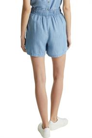 Aus TENCELT: Shorts im Denim-Look blue bleached
