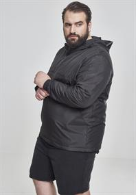 Basic Pull Over Jacket black
