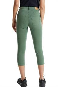 Capri-Hose mit Superstretch khaki green