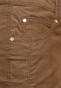 Casual Fit Cord Hose 32 Inch toffee brown