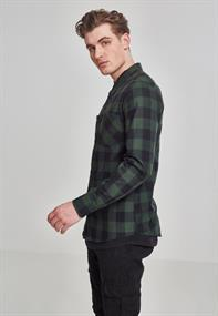Checked Flanell Shirt blk-forest