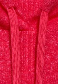 Cosy Hoodie-Pullover hibiscus red