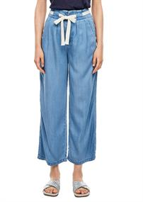 Denim-Hose blau