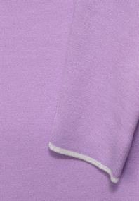 Doubleface Pullover frosty violet