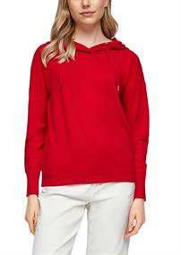 Hoodie-Pullover rot