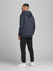 JCOBERG SWEAT HOOD navy blazer