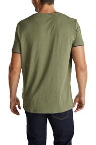 Jersey-Shirt aus 100% Organic Cotton khaki green