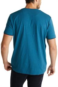 Jersey-Shirt aus 100% Organic Cotton petrol blue