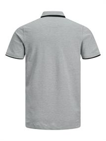 JJEPAULOS POLO SS NOOS light grey melange