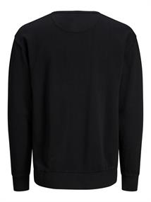 JJEWASHED SWEAT CREW NECK black