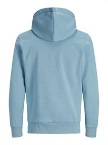 JJHEROS SWEAT HOOD faded denim