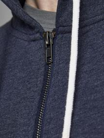 JORLAGUNA SWEAT ZIP HOOD navy blazer