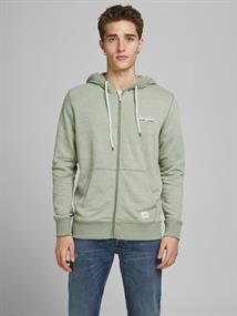 JORTONS SWEAT ZIP HOOD STS sea spray