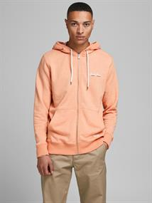 JORTONS SWEAT ZIP HOOD STS shell coral