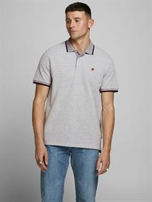 JPRBLUWIN POLO SS STS light grey melange