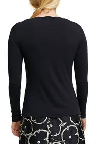 Longsleeve mit Organic Cotton black