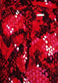 Loose Fit Hose mit Print spice red