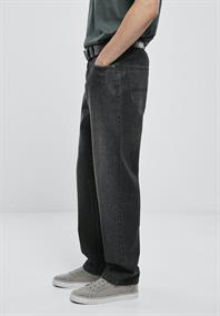 Loose Fit Jeans real black washed