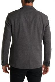 Men Blazers knitted regular dark grey 5