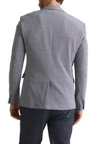 Men Blazers knitted regular medium grey 5