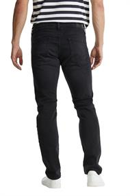 Men Pants denim length service black dark wash