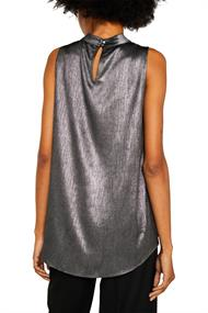 Metallic-Top in A-Linie silver