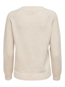 ONLRICA LIFE L/S PULLOVER KNT NOOS birch