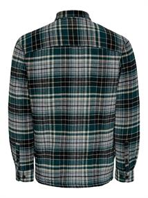 ONSJARRED LS QUILTED CHECK SJACKET sea moss
