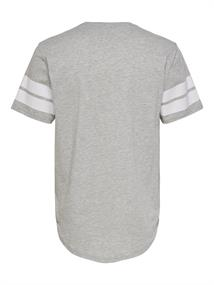 ONSMATTY LONGY SS TEE light grey melange