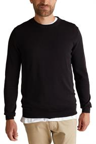 Pullover aus 100% Pima Organic Cotton black