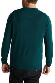 Pullover aus 100% Pima Organic Cotton bottle green 5