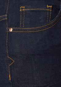 Rinsed High Waist Denim rinsed wash