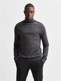 SLHBERG ROLL NECK B NOOS antracit