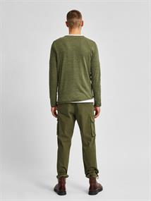 SLHDOME CREW NECK B NOOS agave green