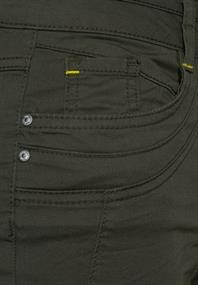 Slim Fit Hose in High Waist utility olive