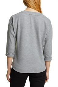 Soft angerautes Sweatshirt gunmetal 5
