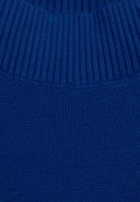 Softer U-Boot Pullover cobalt blue