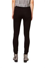 Stretch-Jeans aus Organic Cotton black