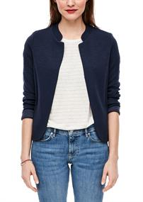 Sweatblazer blau