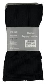 Thermo Leggings Structure black