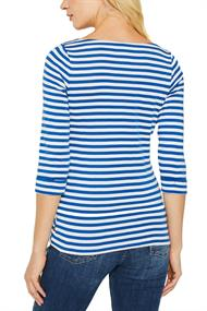 U-Boot-Shirt, 100% Baumwolle bright blue 4
