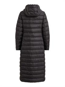 VIMANYA NEW LONG LIGHT DOWN JACKET -NOOS black