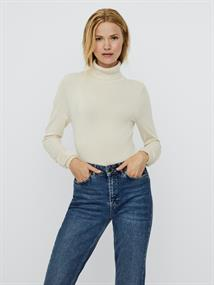 VMGLORY LS ROLLNECK BLOUSE NOOS birch