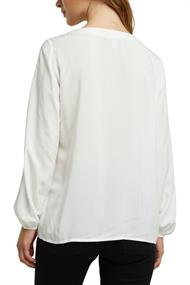 Women Blouses woven long sleeve off white