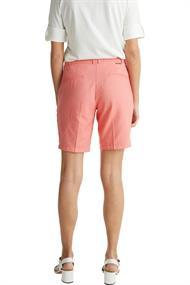 Women Shorts woven regular coral