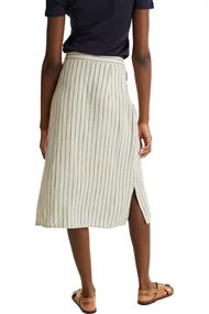 Women Skirts light woven midi sand 4