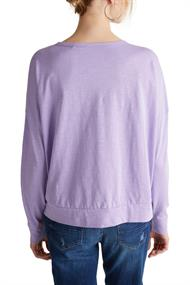 Women T-Shirts long sleeve lilac