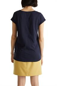 Women T-Shirts short sleeve navy