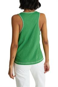 Women T-Shirts sleeveless green