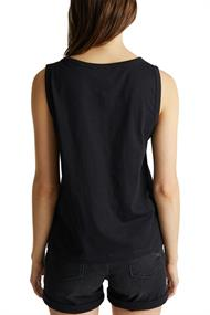 Women T-Shirts sleeveless top black